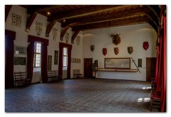 Binnenkant Van Een Kasteel.Kasteel Van Veves